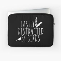 Skin Case, Laptop Case, Back To Black, Laptop Sleeves, Birds, Printed, Awesome, Art, Products