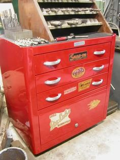 "vintage snap on tool box | History HAMB ""Vintage"" Tool Box Club - THE H.A.M.B."