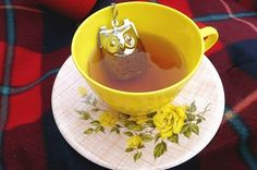 owl tea infuser! @Kirsten Dyck, I need this one for shizzle!