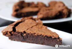 Amerikai csokis süti lisztmentesen | NOSALTY Diet Cake, Atkins, Nutella, Gluten Free, Keto, Sweets, Cooking, Desserts, Recipes