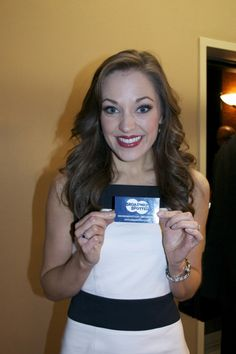 Laura Osnes at the Tony Awards Meet the Press event!