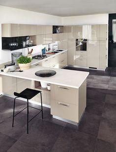 Cucine open space con penisola - Cose di Casa