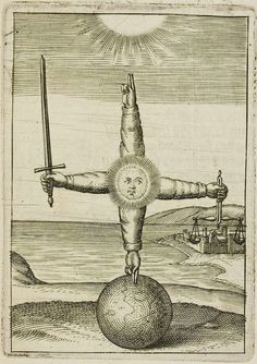 Andreas Friedrich - Emblemata Nova, First developed in the century, emblems consist of three parts: a symbolic picture (pictura) with a motto or title (inscriptio) and an explanatory poem or epigram (subscriptio). The purpose of the emblem. Michel Leiris, Alchemy Art, Esoteric Art, Occult Art, Mystique, Medieval Art, Archetypes, Sacred Geometry, Dark Art