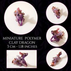 Handmade figurines and plushies. Polymer Clay Dragon, Little Dragon, Clay Art, Plushies, Etsy Seller, Decorative Plates, Miniatures, Handmade Gifts, Kid Craft Gifts