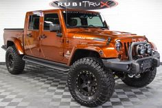 Pre-Owned 2014 HEMI Brute Double Cab Copperhead Pearl - Real Time - Diet, Exercise, Fitness, Finance You for Healthy articles ideas Wrangler Pickup, Jeep Wrangler Girl, Jeep Wrangler Rubicon, Jeep Pickup, Jeep Jk, Jeep Truck, Jeep Wrangler Unlimited, Jeep Wranglers, Jeep Garage