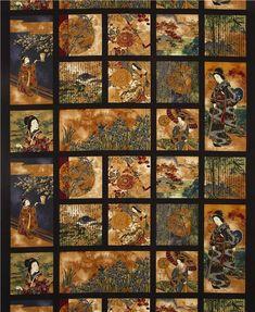 Japanese Poem, Japanese Geisha, Robert Kaufman, Beautiful Things, Oriental, Poems, Backgrounds, Fabrics, Quilts