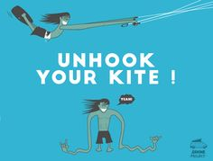 unhook your kite