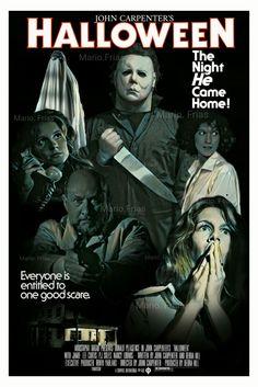 Halloween 1978 John Carpenter Horror Movie Slasher Fan Made Edit By Mario.Frias