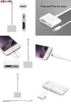 Hell 8 Pin Lightning Zu Hdmi Digital Tv Av Adapter Kabel Für Apple Ipad Iphone 7 8 X Handys & Kommunikation A/v-kabel & Adapter