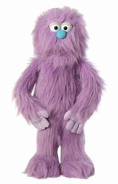 1970-Now 11741: 30 Purple Monster Puppet, Full Body Ventriloquist Style Puppet -> BUY IT NOW ONLY: $65.96 on eBay!