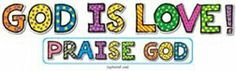 GOD IS LOVE BB SETS 6-PK CHRISTIAN by Carson Educational Products. $14.12. SKU.: CD-210018. Sold As 1 Each. Manufactured by .: Carson Dellosa. * · 13 letters that spell GOD IS LOVE or PRAISE GOD, largest measures approx. 12.75 in. x 12.5 in. · Exclamation point · Activity guide. Save 36% Off!