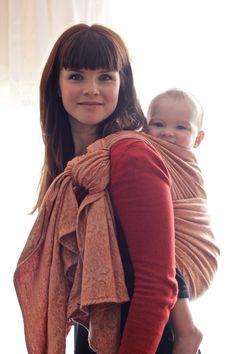 #oscha nouveau barley #babywearing http://www.oschaslings.com