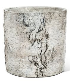 Look at this #zulilyfind! Birch Planter #zulilyfinds