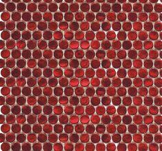 Interglass Penny Round Ruby