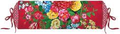 Tolle Nackenrolle »Dutch Painters« der Marke PiP Studio. Das Design dieses Kissens sticht sofort ins Auge - die kräftigen Farben und das hübsche Blumenmuster machen schon ordentlich was her. Die Rolle wird mit Füllung geliefert, die mit Hilfe des Zugbandes an den Enden auch herausgenommen werden kann. Holen Sie sich die Nackenrolle nach Hause und machen Sie es sich mit der ovalen Form bequem.  ...
