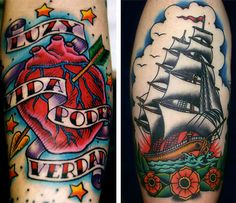Oliver Peck Traditional Tattoo