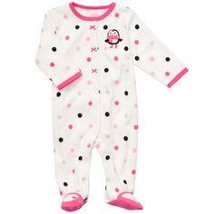 Microfleece Snap-Up Sleep & Play | Baby Girl Cyber Monday Doorbusters