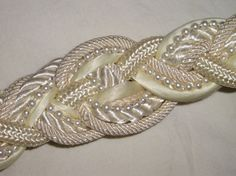 Your place to buy and sell all things handmade Wedding Belts, Wedding Stuff, Wedding Ideas, Braided Belt, Sash, To My Daughter, Jewelery, Jewelry Design, Etsy Shop