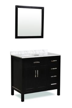 "Ashland 36"" Bathroom Vanity Set Belmont Decor http://www.amazon.com/dp/B008RRNNYI/ref=cm_sw_r_pi_dp_xPWvub12FPKBN"