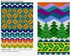 ru / Photo # 8 - knitted socks, but you can sew - my-joy Fair Isle Knitting Patterns, Knitting Charts, Knitting Stitches, Knitting Designs, Knitting Projects, Motif Fair Isle, Fair Isle Chart, Fair Isle Pattern, Fair Isles