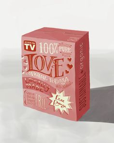 Valentine's Day Edition: Box of Love Print by Emily McDowell