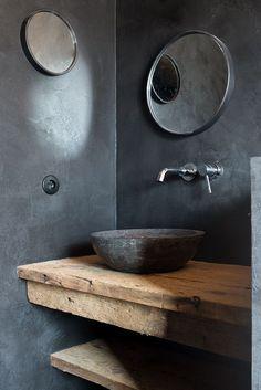 COCOON modern bathroom inspiration bycocoon.com | wood | high quality stainless steel bathroom taps | modern basins | luxury bathroom design products | renovations | interior design | villa design | hotel design | Dutch Designer Brand COCOON