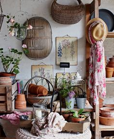 Meaningful and sustainable Christmas gifts for kids - MyLife Garden Shed Interiors, Garden Sheds, Garden Rack, Le Hangar, Shed Decor, Greenhouse Shed, Cosy Home, Vibeke Design, Potting Sheds
