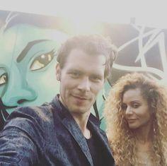 Joseph and persia at comic con 2016
