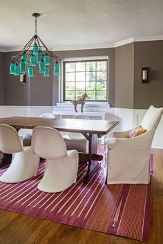 Sara Chandelier in Design Manifest modern rustic Dining Room