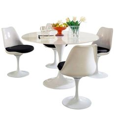 Modway Lippa 5 Piece Fiberglass Dining Set - DescriptionThis Lippa Dining table and chair set is the perfect solution to your dining seating needs! Perfect when entertaining or for everyday relaxation.