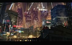 Akira Cityscape Akira cityscape