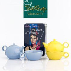 Breakfast at Tiffany´s con este set de Tea Shop. #TeaShop