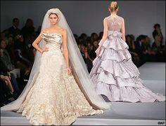 Elie Saab's Bridal glory in Paris