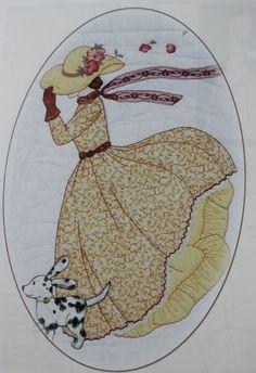 Bonnet Girl Patterns of the Past Pattern Book Applique
