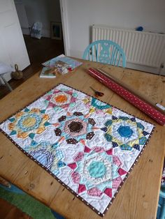 Rose Star Quilt from SelfSewn