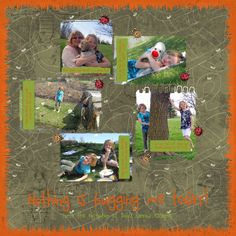 Scrapbooking- Adventures in the park- part two!