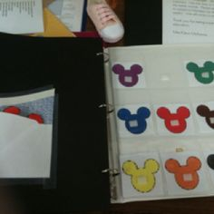 to make a color matching file folder game not stagnant. You can change the location of the cards by using a baseball card holder--sold at office supply stores. Autism Activities, Autism Resources, Creative Activities, Toddler Activities, Activities For Kids, File Folder Activities, File Folder Games, File Folders, Preschool Centers