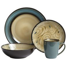 Teal Peacock Dinnerware | Pier 1 Imports