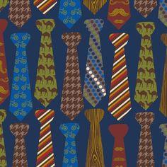 Novelty Print Fabric-Neckties at Joann.com. Charity quilt: