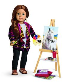 American Girl Doll of the Year: Saige - $110 Cloie Sage <3