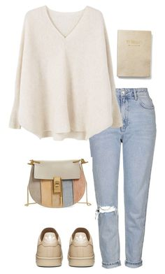 """Untitled #481"" by vaniaoliveira97 ❤ liked on Polyvore featuring Topshop, MANGO, Chloé and Express"