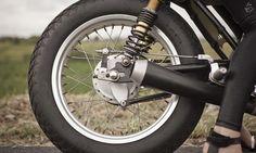 Yamaha Cafe Racer | Verve Moto | Yamaha Scorpio 225 cc | ZUI Racer