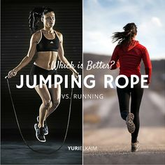Jumping Rope vs. Running – Which is Better? (The Answer Will Surprise You) http://yurielkaim.com/jumping-rope-vs-running/