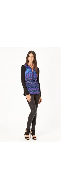 Giselle Print Top