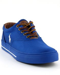 Polo Ralph Lauren Vaughn sneaker - MAN OF FASHION Polo Ralph Lauren Vaughn sneaker... Outstanding Royal blue... Leather laces: