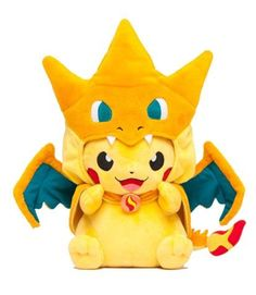 This is SO awesome!!! I love pikachu and I cherish charizard!