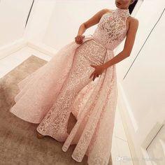 Elegant Prom Dresses,A-Line Prom Gown, Sleeveless Pink Evening Dresses,Chiffon Long Prom Dress With Lace,Prom Dress Mermaid Evening Dresses, Formal Evening Dresses, Evening Gowns, Formal Gowns, Evening Party, Mermaid Dress Prom, Dress Formal, Formal Prom, Cute Dresses