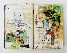 ART JOURNALING — obstacle - art journal (by czekoczyna)
