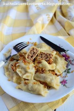Pasta Recipes, Cooking Recipes, Healthy Recipes, Polish Recipes, Food To Make, Good Food, Food And Drink, Favorite Recipes, Dishes