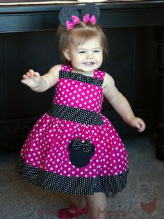 Minnie mouse OMG perfect for a 1st birthday party